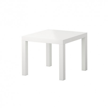 White auxiliary table