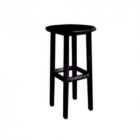 Tall black table