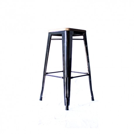 Indy wooden stool