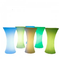 High iluminated table