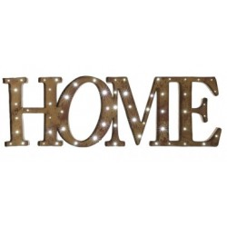 """"""" HOME"""" led sing"""